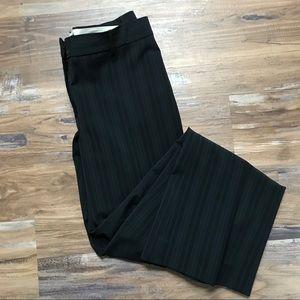 Elie Tahari- Pinstriped Wide Leg Dress Pants
